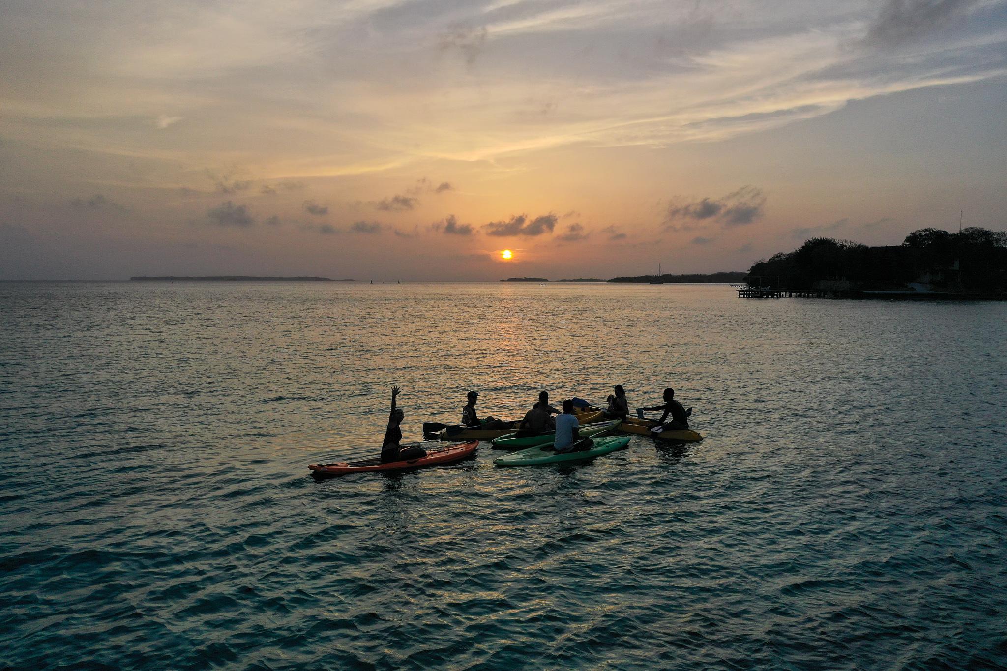 Tour Sunset Kayak